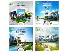 Manipulation Social Ad Design for Asian Duplex Town Ltd. Building Sale, Thailand Tour Package offer etc. Social Media Poster, Social Media Branding, Social Media Banner, Social Media Design, Real Estate Ads, Real Estate Companies, Web Design, Graphic Design, Ads Creative