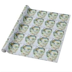 ABRAHAM LINCOLN - watercolor portrait Wrapping Paper - portrait gifts cyo diy personalize custom