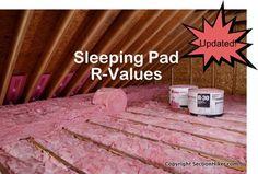 Sleeping Pad R Values