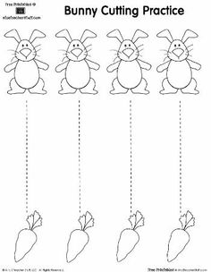 Cutting practice sheet Make your world more colorful with free printable coloring pages from italks. Our free coloring pages for adults and kids. Cutting Practice Sheets, Preschool Cutting Practice, Cutting Activities, Easter Activities, Preschool Activities, Physical Activities, Preschool Activity Sheets, Preschool Centers, Dementia Activities