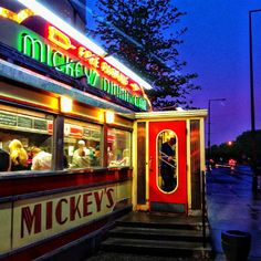 Mickeys!!  St. Paul MN. Every Time we go back to the Cites we always try to stop and eat here.