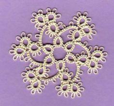 Tatted Snowflakes Collection - Jon - Picasa Web Albums Yo no encuentro cómo empezarlo siquiera, pero se ve hermoso