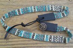 Bead woven bracelets southwestern braceletNative by Adornments925