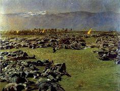 Giulio Aristide Sartorio, battaglie a colpi di pennello (31st October 1917?)