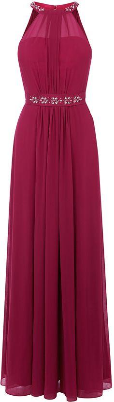 Womens raspberry juliette maxi dress sl from Coast - £149 at ClothingByColour.com Dark Winter, Hot Pink, Raspberry, Coast, Formal Dresses, Red, Clothes, Women, Fashion