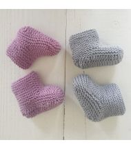 #kittricot Les petits chaussons #breakingthewool #naissance