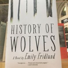 Part thriller, part coming of age story .... and our only plans this weekend. #bookstagram #bookworm #books #bookstagrammer #booksbooksbooks  #fridayreads #nowreading #onthelist #TBR #historyofwolves #emilyfridlund @groveatlantic