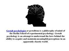 #gestaltpsychologist  #gestalttherapytechniques