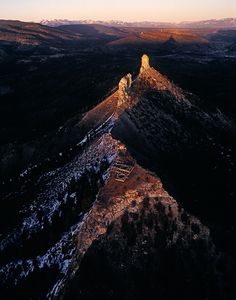 Chimney Rock Archaeological Area, Colorado's Newest National Monument. Pueblo ruins and geological site.