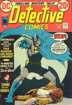 Detective Comics #431, January 1973, cover by Mike Kaluta