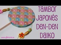 Cómo hacer un tambor japonés con materiales reciclados | Manualidades Art Lesson Plans, Art Lessons, Asia, Beach Mat, Origami, Decorative Plates, Projects To Try, Coin Purse, Outdoor Blanket
