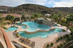 Dream luxury pool @rubberduckflooring Www.rubberduckflooring.com