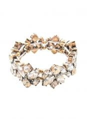 Glam And Glitter Statement Bracelet