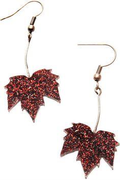 Tatty Devine fallen leaves earrings CcIZAT7