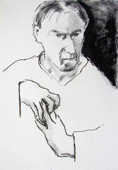 Selfportret II 15-07 15 by Bart Jan Bakker