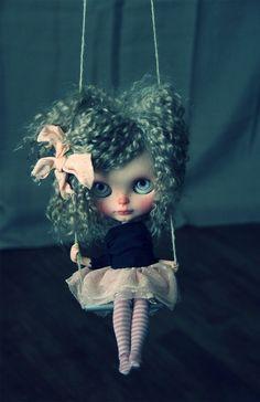 Taradolls Jolie poupée Blythe doll custom ooak art RBL kid mohair rerooted | eBay