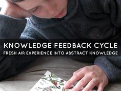 Knowledge feedback cycle: Fresh air experience into abstract knowledge Free Presentation Software, Haiku, Ecology, Deck, Knowledge, Fresh, Learning, Abstract, Fun