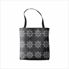 Black and white flower print / pattern Simple Flowers, White Flowers, Flower Prints, Print Patterns, Reusable Tote Bags, Black And White, Products, Floral Patterns, Single Flowers