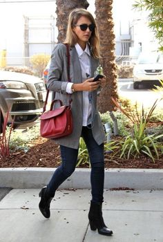 'Barely Lethal' actress and busy mom Jessica Alba stops by Bel Bambini in West Hollywood, California on October 24, 2013. After she finished...