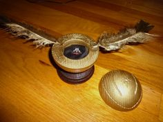 If the snitch looked more realistic,, then I would freak at this proposal!  HARRY POTTER!