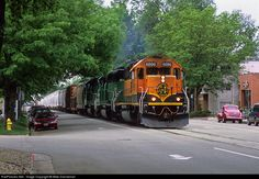 RailPictures.Net Photo: BNSF 6896 Burlington Northern Santa Fe EMD SD40-2 at Fort Collins, Colorado by Mike Danneman
