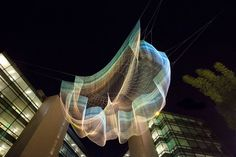 """Janet Echelman Mockup for Impatient Optimist, Seattle, WA, 2013 » Janet Echelman 