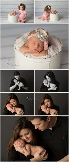 Avery | One Week   {Newborn Photographer, Lexington Kentucky} www.kelliecarter.com
