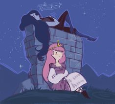 Shared by Find images and videos about yuri, adventure time and marceline on We Heart It - the app to get lost in what you love. Adventure Time Marceline, Adventure Time Anime, Life Is Strange, Cartoon Network, Marceline And Princess Bubblegum, Vampire Queen, Black Vampire, Bubbline, Korrasami