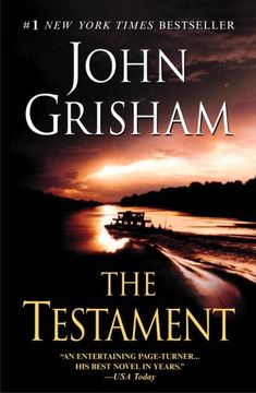 The Testament- Really enjoyed this book. Couldn't put it down.