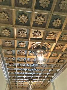 Ceiling Of The Historic Cactus Hotel In San Angelo Texas