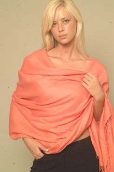 Shawl - Cashmere - 100% Pashmina Regular Shawl- 2 Ply From Cashmere Pashmina Group