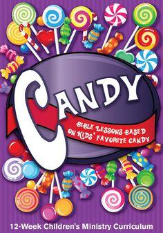 Candy 12-Week Children's Ministry Curriculum – Children's Ministry Deals