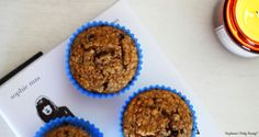 Chocolate and Banana Oat Cupecakes | Stephanie's Daily Beauty
