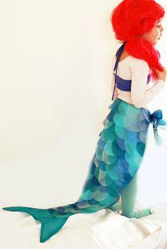 Ariel The Little Mermaid. DIY Disney Princess Costumes — JaMonkey