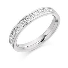 Raphael Collection Diamond Half Eternity Ring HET1687