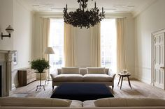See all our stylish living room design ideas, including this room in the offices of Jo Malone designed by Rose Uniacke