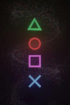 The Magic of Gaming Symbols - Gamer Print - D4