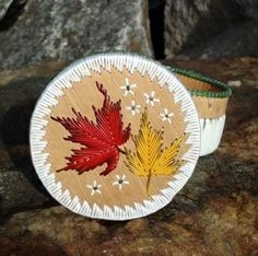 ... Porcupine Quill Baskets, available at the Wolf Den in Parry Sound