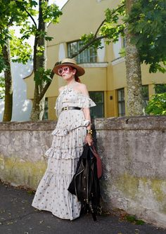 The wardrobe of Ms. B: a perfect Summer evening