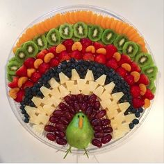 Thanksgiving turkey Thanksgiving turkey Next İmages: Thanksgiving Platter, Thanksgiving Vegetables, Thanksgiving Appetizers, Thanksgiving Turkey, Thanksgiving Recipes, Holiday Recipes, Thanksgiving Traditions, Fruit Turkey, Turkey Fruit Platter
