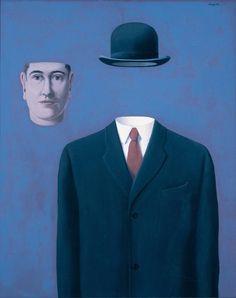 René Magritte - Artist XXè - Surrealism - The Pilgrim, 1966 Conceptual Art, Surreal Art, Rene Magritte Kunst, Artist Magritte, Albertina Wien, Magritte Paintings, Illustration Arte, Illustrations, Max Ernst