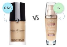 Ten Of The Best High Street Foundation Dupes UK Dix des meilleurs Dupes Foundation High Street UK