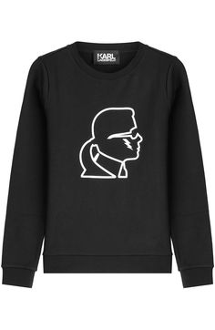 KARL LAGERFELD Karl Statement Sweatshirt. #karllagerfeld #cloth #sweatshirts