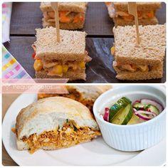 Sandwiches de pollo