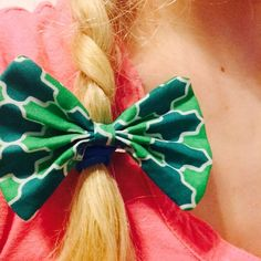 The Mock Turtle Hairbow by ThreadsByHatter on Etsy