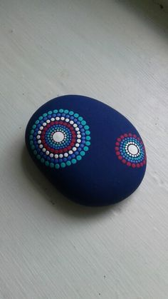 Painted stone by Steph Vigno
