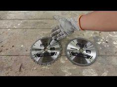 perbedaan mata potong untuk kayu dan aluminium (multi material) + review BULL aluminium saw blade 7 - YouTube Circular Saw, Plates, Licence Plates, Dishes, Griddles, Dish, Router Jig, Plate