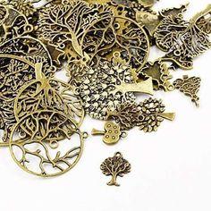 Product Details Pendant Jewelry, Diy Jewelry, Jewelry Making, Jewellery, Armband Diy, Bird Skull, Bronze, Craft Shop, How To Make Earrings