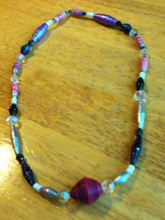 cool paper bead jewelry