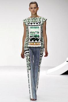 Mary Katrantzou design #fashion #style